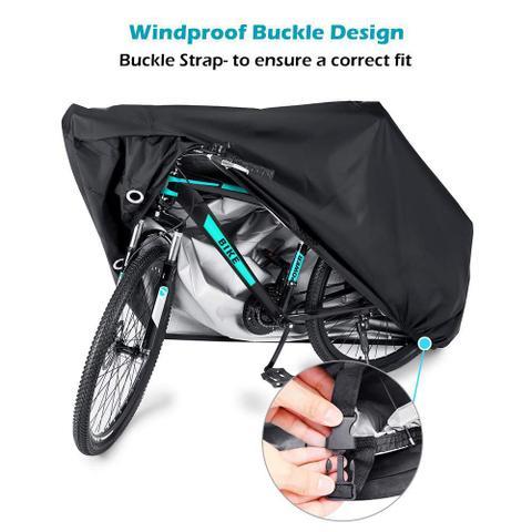 Imagem de Capa Protetora Para Cobrir Bicicleta 2 Bike Impermeavel