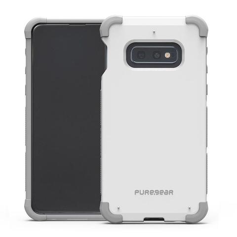 Imagem de Capa Protetora PureGear DualTek Extreme Shock para Samsung Galaxy S10e 5.8 - Branco/Cinza