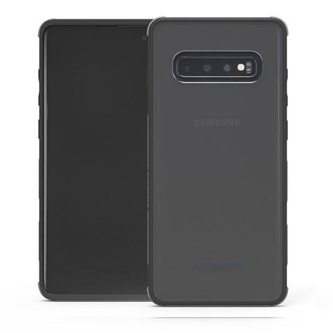 Imagem de Capa Protetora PureGear DualTek para Samsung Galaxy S10+ Plus 6.4 - Transparente/Preto