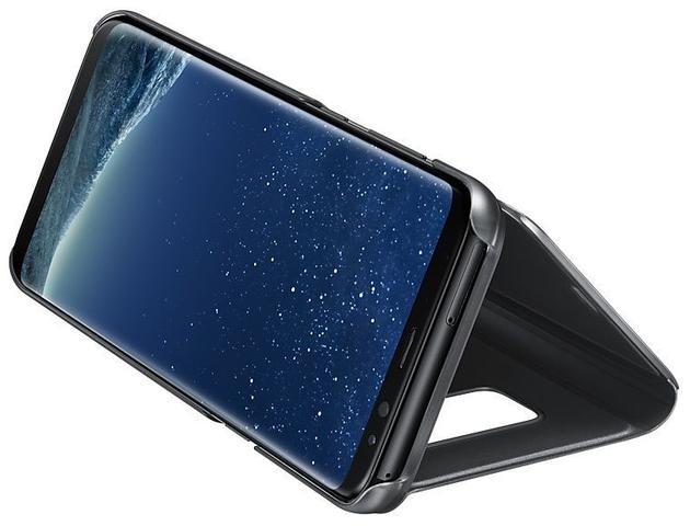 Imagem de Capa Protetora Samsung Clear View Standing Galaxy S8 Plus G955