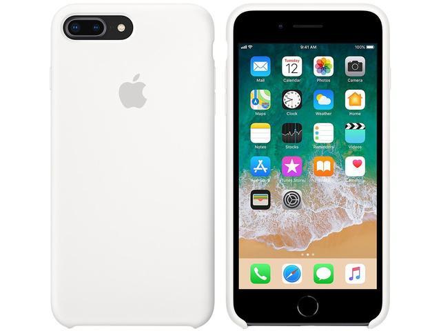 Imagem de Capa Protetora Silicone para iPhone 7 Plus e