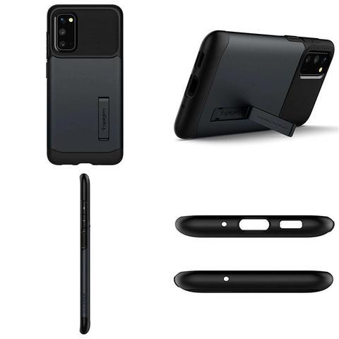 Imagem de Capa Protetora Spigen Slim Armor para Samsung Galaxy S20 6.2 - Metal Slate