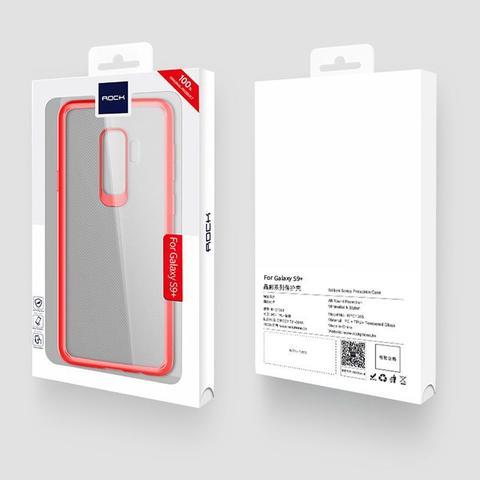 Imagem de Capa Protetora Ultra Slim Rock Clarity para Samsung Galaxy S9 6.2 Plus - Vermelho