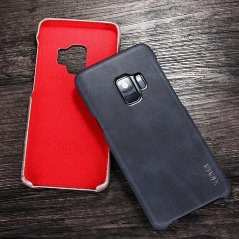 Imagem de Capa Protetora X-Level Vintage Couro PU para Samsung Galaxy S9 5.8