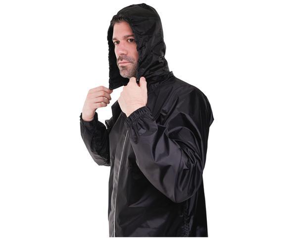 Imagem de Capa roupa de chuva motoqueiro masculina nylon pioneira tam p 0083