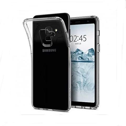 Imagem de Capa Samsung Galaxy A8 2018 TPU Transparente
