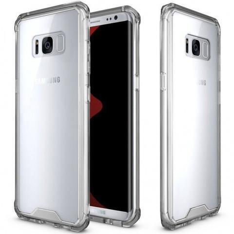Imagem de Capa Samsung Galaxy Note 8 Com Borda Anti Impacto Transparente