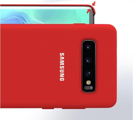 Imagem de Capa Samsung Galaxy S10 Tela de 6.1 Polegadas Silicone Cover Anti Impacto Verde Água