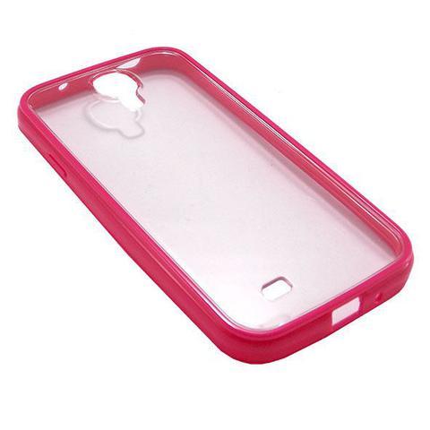 Imagem de Capa Samsung Galaxy S4 Tpu + Pc Rosa - Idea