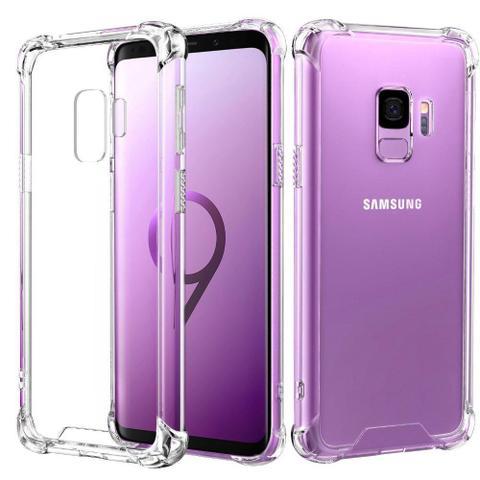 Imagem de Capa Samsung Galaxy S9 Anti Shock Transparente Bordas Reforçadas