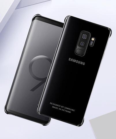 Imagem de Capa Samsung Galaxy S9 Clear Cover Ultra fina Prata com Pelicula 3D Special Premium Tela Inteira