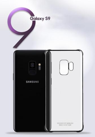 Imagem de Capa Samsung Galaxy S9 Clear Cover Ultra fina Prata