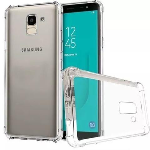 Imagem de Capa Samsung J8 2018 Anti Impacto Transparente