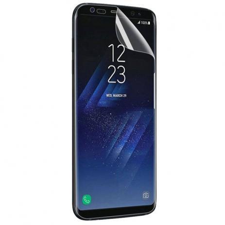 Imagem de Capa Silicone Cover Samsung Galaxy S8 Plus Azul + Película de Silicone