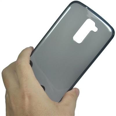 Imagem de Capa Silicone Tpu Celular Lg K10 K430 Tv Dual Fumê
