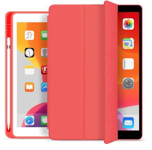 Imagem de Capa Smartcase para New Ipad 10.2 (7ª geração ) - Com Suporte para Pencil - Vermelha