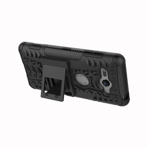 Imagem de Capa Sony Xperia XZ2 Compact Hybrid Armor  - Preto