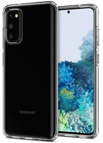 Imagem de Capa Spigen Liquid Crystal Samsung Galaxy S20 - ACS00815 - Transparente