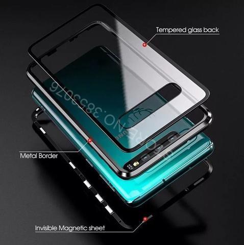 Imagem de Capa Strong Magnética Luxo Smartphone Galaxy S10+ Plus (6,4)