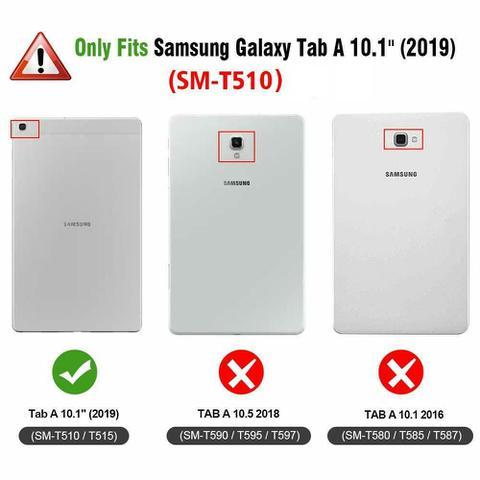 Imagem de Capa Tablet Samsung Galaxy Tab A 10.1 T510 Magnética Preta (Não compatível com T515)