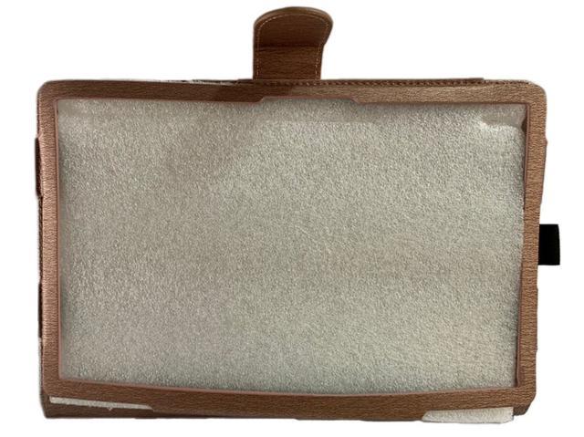 Imagem de Capa Tablet Samsung Galaxy Tab A7 10.4 T500 T505 Magnética Carteira Dobrável Bege
