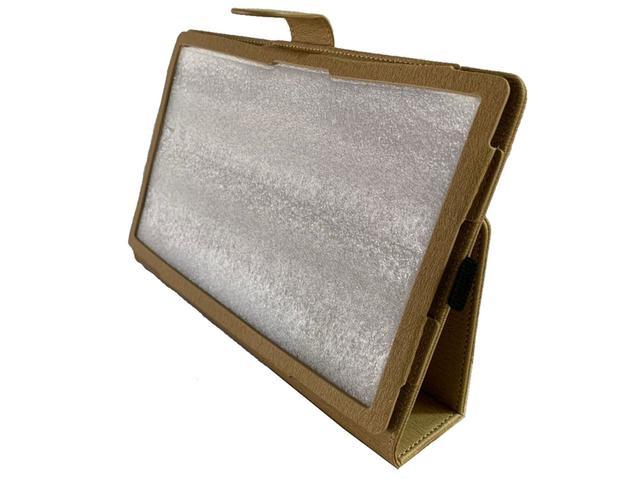 Imagem de Capa Tablet Samsung Galaxy Tab A7 10.4 T500 T505 Magnética Carteira Dobrável Dourada