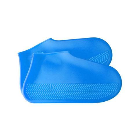 Imagem de Capa Tenis Chuva Impermeavel Silicone Pes Bike Sapato Bota Moto P