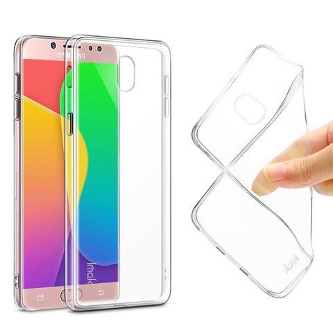 Imagem de Capa transparente de silicone para Samsung J7 Pro