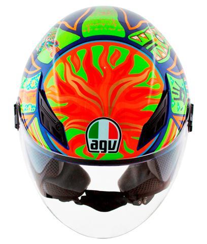Imagem de Capacete Aberto AGV Blade 5 Five Continentes Valentino Rossi