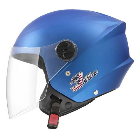 Imagem de Capacete Aberto Pro Tork New Liberty Three Elite Azul 60
