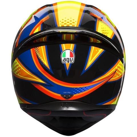 Imagem de Capacete AGV K1 Soleluna 15 Preto/Amarelo (Valentino Rossi)