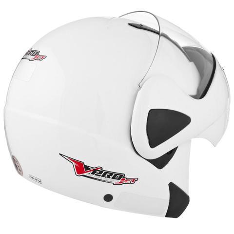 Imagem de Capacete Articulado V-Pro Jet Branco Pro Tork