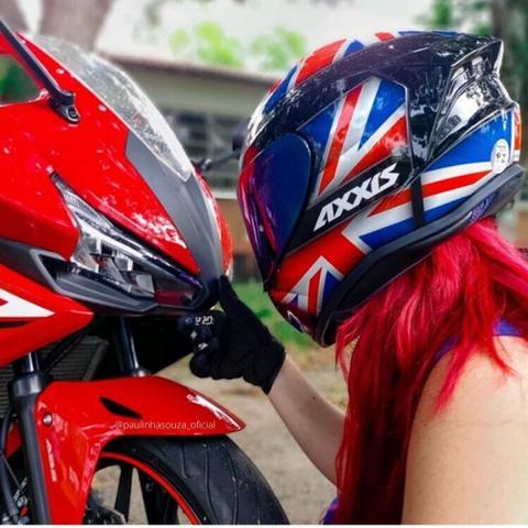 Imagem de Capacete Axxis Draken UK Masculino Feminino Lançamento