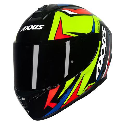 Imagem de Capacete Axxis Draken Vector Esportivo Moto Masculino Feminino Lançamento