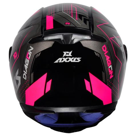Imagem de Capacete Axxis Eagle Diagon Modelo Esportivo Moto Masculino Feminino Lançamento Premium