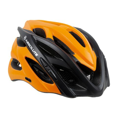 Imagem de Capacete Bike Ciclismo Bicicleta Mtb Wild Tamanho G 58-61 Laranja/ Preto Absolute