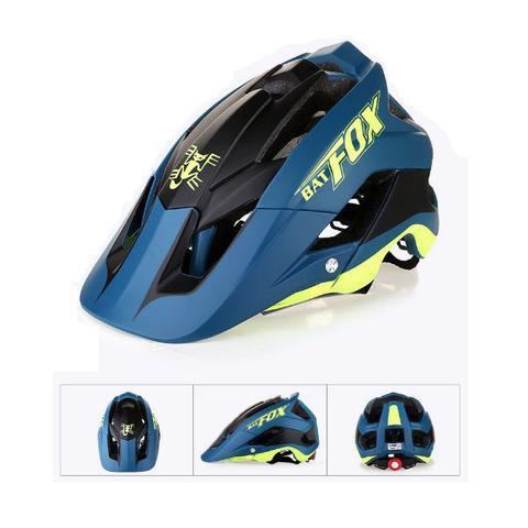 Imagem de Capacete Ciclismo MTB Road Bike Mold Bat Fox 56 a 62cm