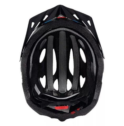 Imagem de Capacete Ciclismo Tsw Tune Preto/azul/vermelho