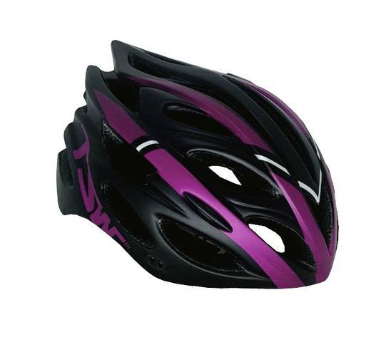 Imagem de Capacete Ciclismo Tsw Tune Preto/pink