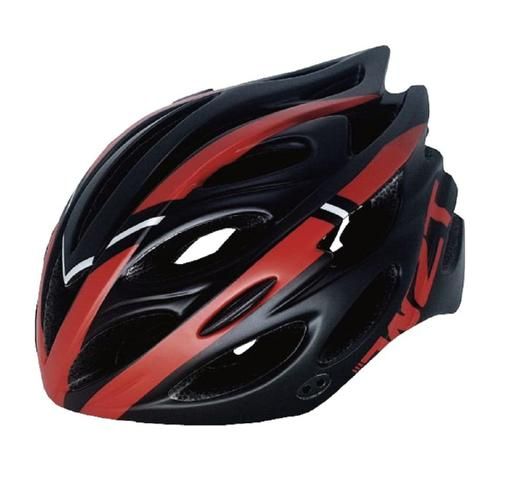 Imagem de Capacete Ciclismo Tsw Tune Preto/vermelho