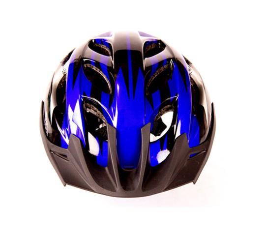 Imagem de Capacete Ciclista Adulto Regulagem Tamanho Bike Ciclismo Skate Patins - Azul