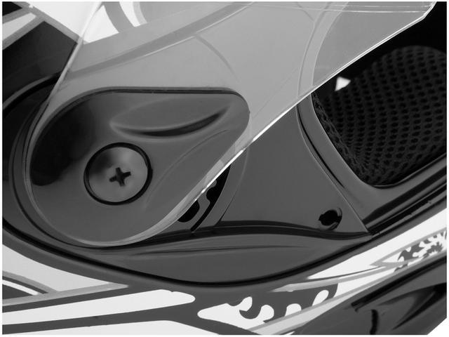 Imagem de Capacete Cobra Mixs Preto e Prata