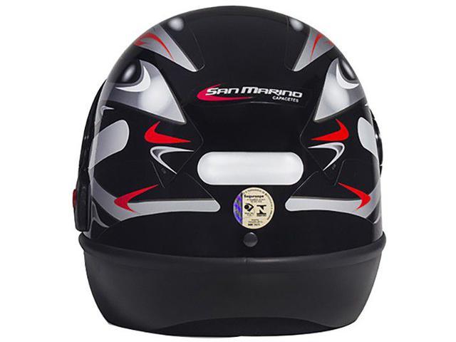 Imagem de Capacete de Moto Fechado San Marino