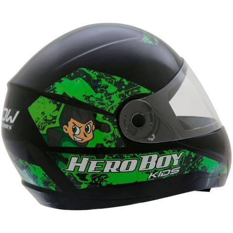 Imagem de Capacete de Moto Infantil Hero Boy 54 225447