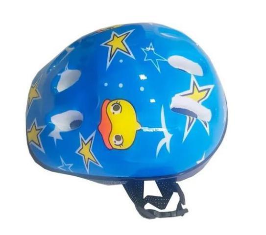 Imagem de Capacete De Proteção Infantil Para Bicicleta Skate Patins Patinete Bike Gts