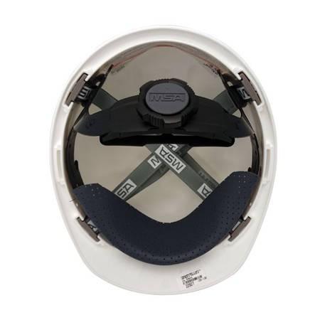 c6250059b7b1b Imagem de Capacete de segurança msa com catraca e jugular - branco - ca 498