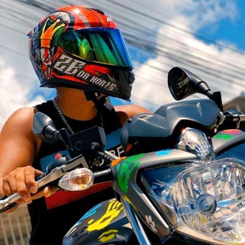 Imagem de Capacete Fechado Axxis Eagle 26 da Norte Masculino Esportivo