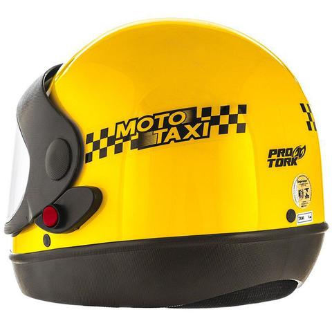 Imagem de Capacete Fechado Moto Taxi Sport Viseira Automatico Pro Tork Motoboy