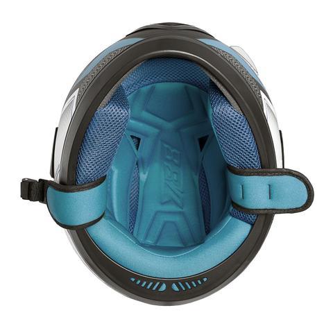 Imagem de Capacete Fechado Pro Tork Evolution 788 G6 Pro Series Tech Preto/Azul