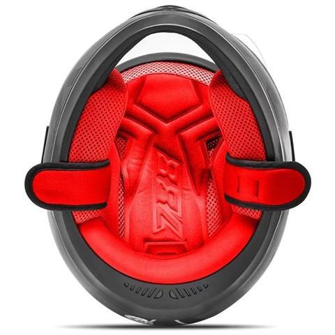 Imagem de Capacete Fechado Pro Tork Evolution G7 Preto E Vermelho Brilhante Tamanho 58